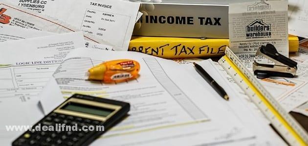 حساب ضريبة القيمة المضافة للاراضي