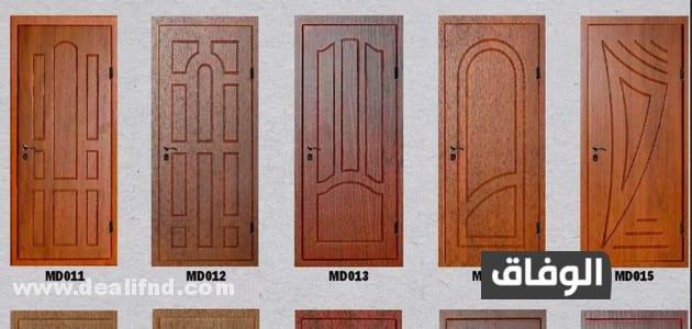 حساب كمية الخشب للابواب