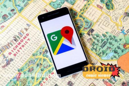 خدمة Google Maps